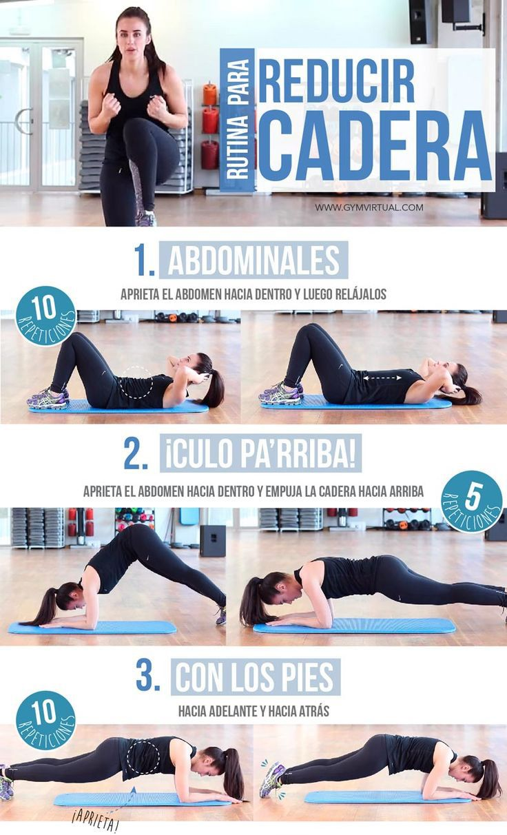 7 Ejercicios Para Reducir La Grasa De La Cadera Workout Routine Gym Workout Tips Fitness Motivation Body