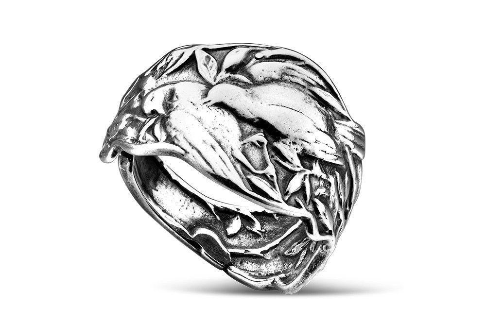 Silver Spoon Adjustable Ring - Patricia