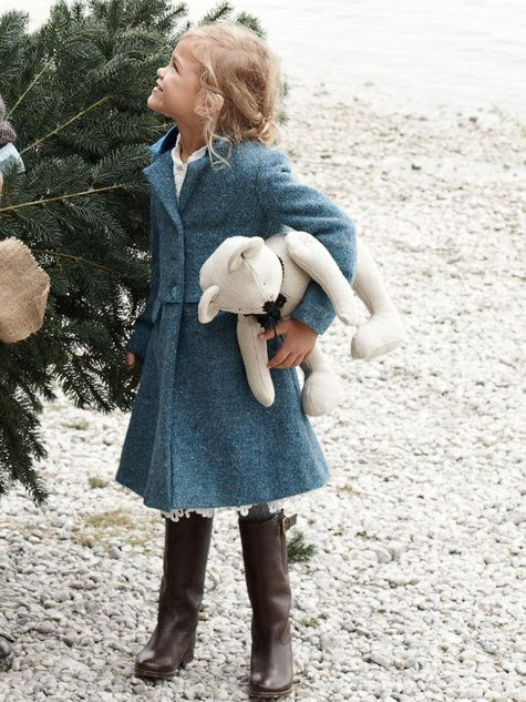 Girl's Dress Coat 12/2012 #156 | More Free pattern ideas