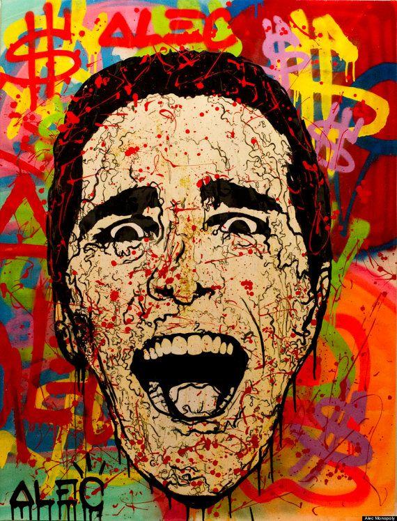 Sale Wall Street Art Print 5pc Alec Monopoly Dillon Banksy Wall