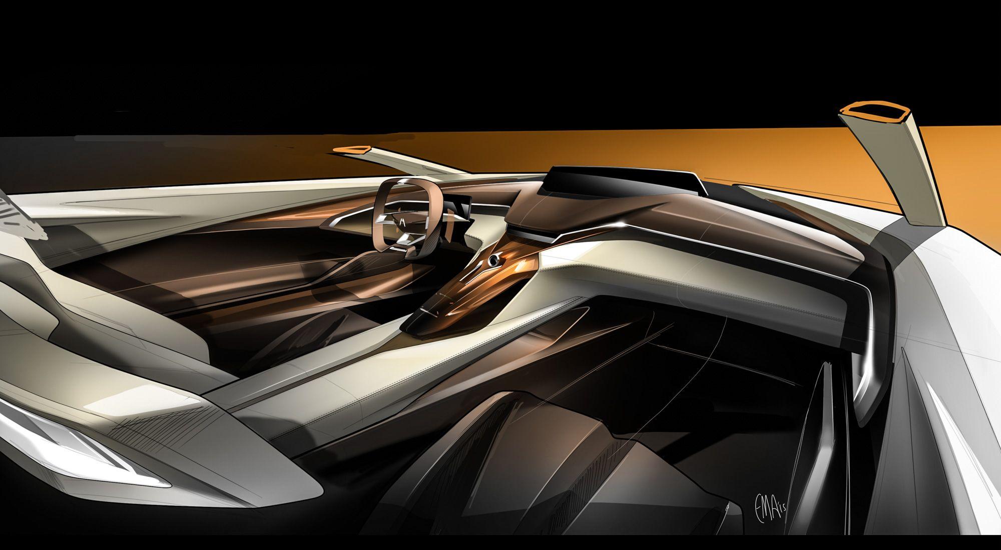 Design Development Acura Precision Concept Car Design News Concept Car Interior Car Interior Design Sketch Car Interior Sketch
