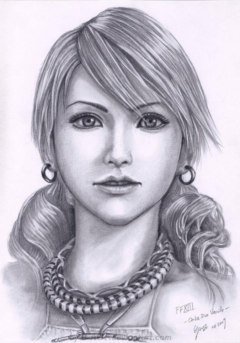 Vanille coloriage de portrait dessin peinture sur porcelaine et peinture - Vanille dessin ...