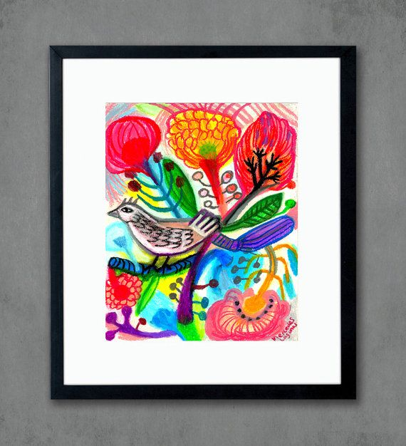 Title Wild Garden Size 8x10 With Additional White Border For Framing Paper E Surface Paper Accurate Color Archival Quality Art Prints Art Fine Art Prints