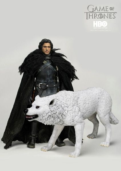"""1//6 Scale Soldier Clothes Game of Thrones Jon Snow Coat Model For 12/"""" Figure"""