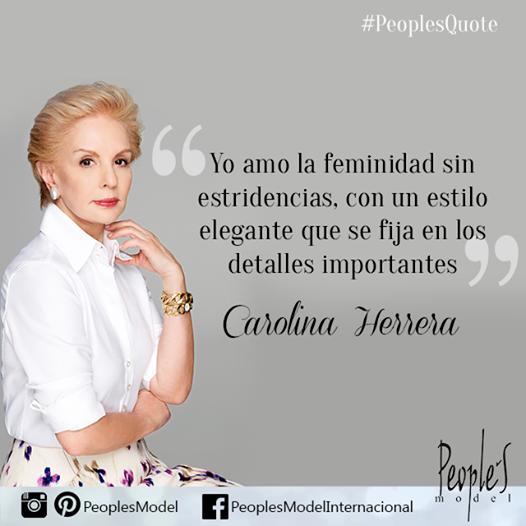 2831cbf09f 10 'Fashion Quotes' de Carolina Herrera que te inspirarán   Verdades    Frases de estilo, Moda frases, Frases