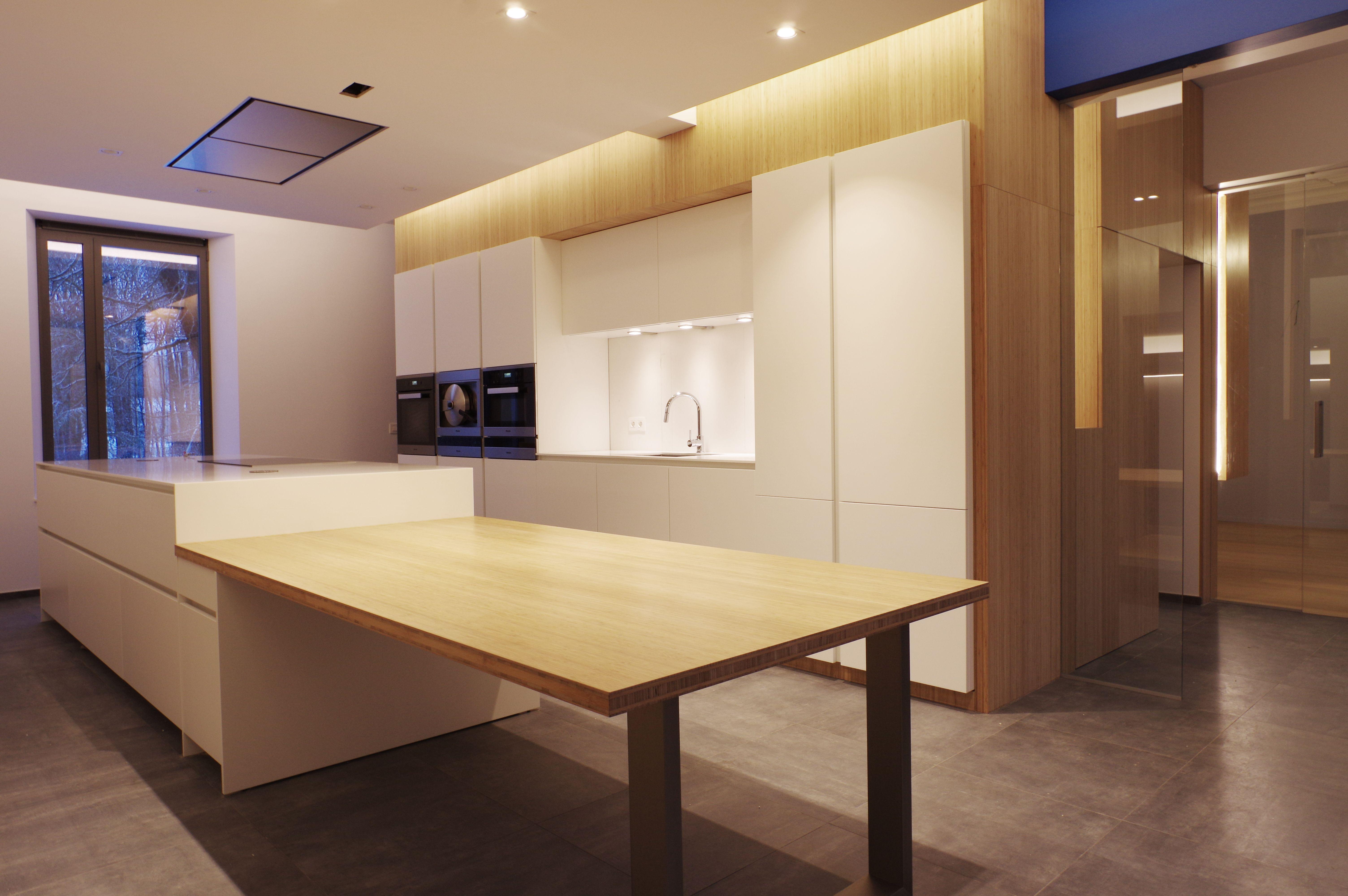 SECHEHAYE Architecture & Design  l  Projet d'aménagement intérieur - Cuisine  l  Mettet, Belgique