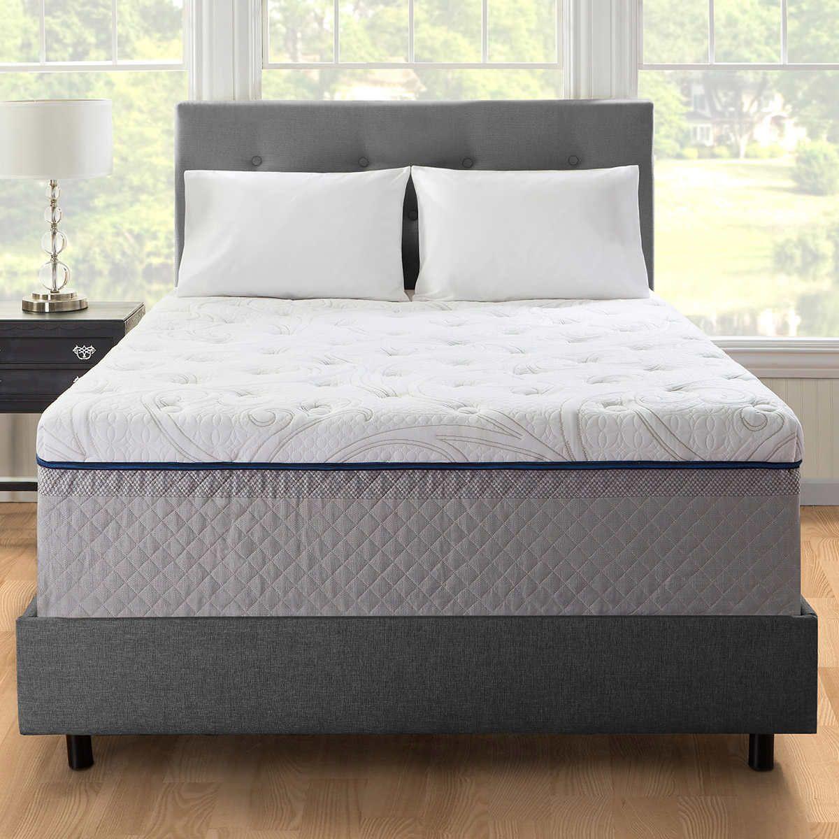 Novaform 14 Quot Comfort Grande Queen Evencor Gelplus Memory Foam Mattress Foam Mattress Mattress