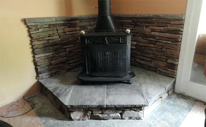 How To Build A Hearth Pad For A Wood Stove Terest Build Your Own