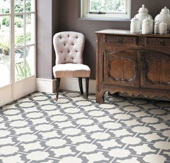 Parquet Charcoal U2013 Flooring By Neisha Crosland For Harvey Maria   High End Linoleum  Tile, Really Cool, Indestructible.