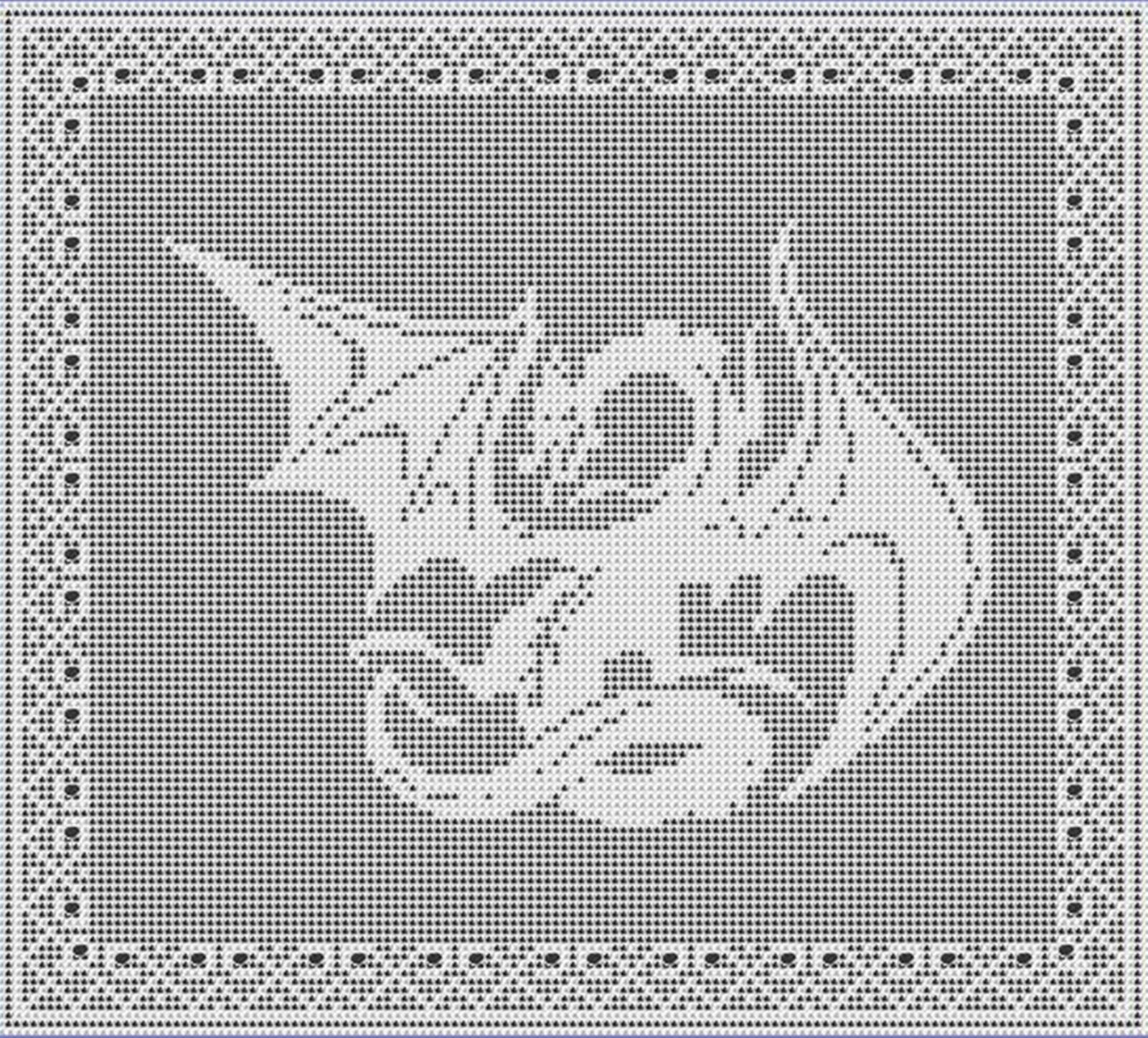 Free Filet Crochet Graph Patterns Year Of Clean Water