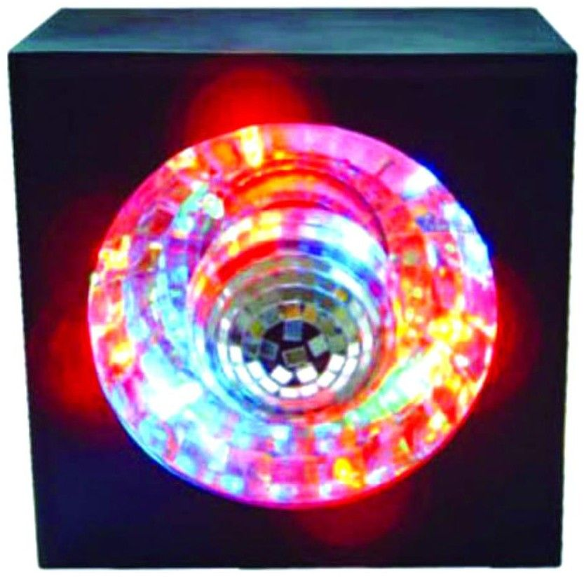 Rotating Mirror Ball W Led Light And Square Frame Color Changing Lights Lava Lamp Mirror Ball