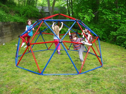 Lifetime Geometric Dome Climber Play Center Primary Colors Sports Outdoors