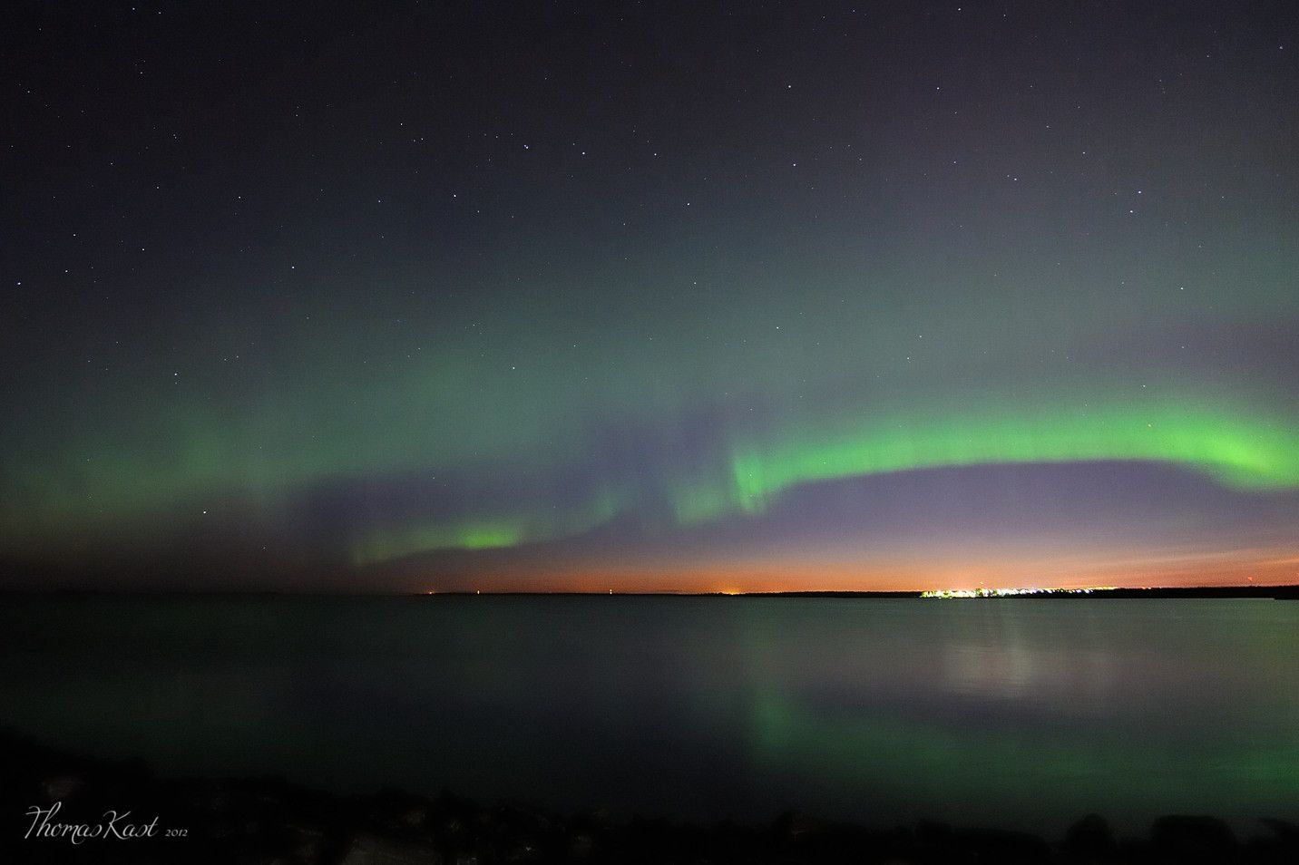 Auroras en Finlandia.-