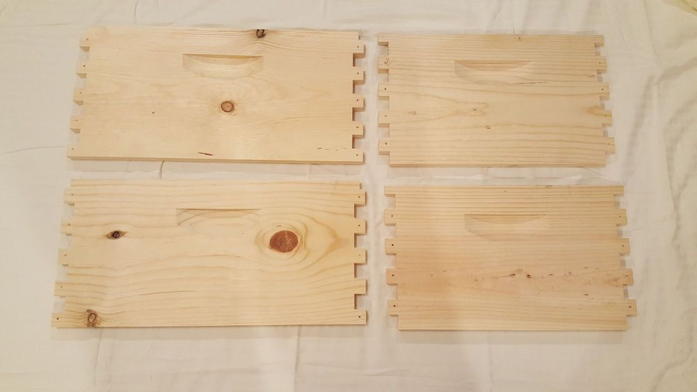 Deep Brood box- 10 frame-- Deep Super Unassembled Bee hive