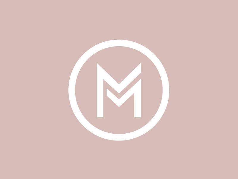 Double M Bakery Logo Design Monogram Design Monogram Logo