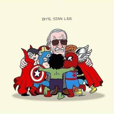 39 Absolutely Breathtaking Tributes To Stan Lee