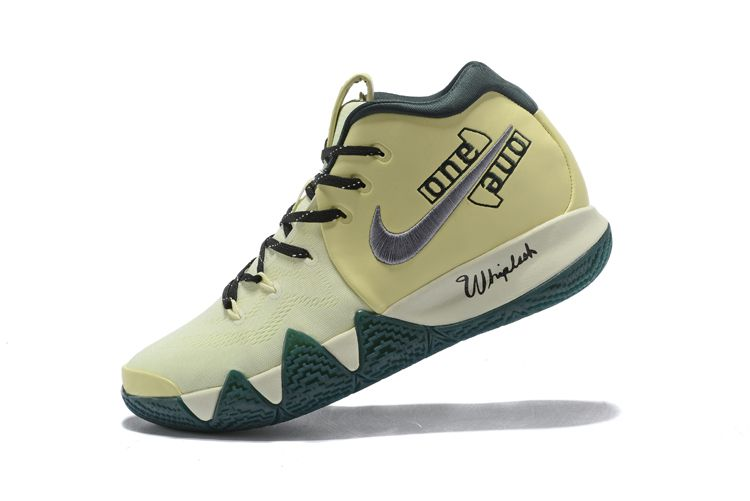 2018 Nike Kyrie 4 PE Yellow Green Online For Sale  e0b0dc896