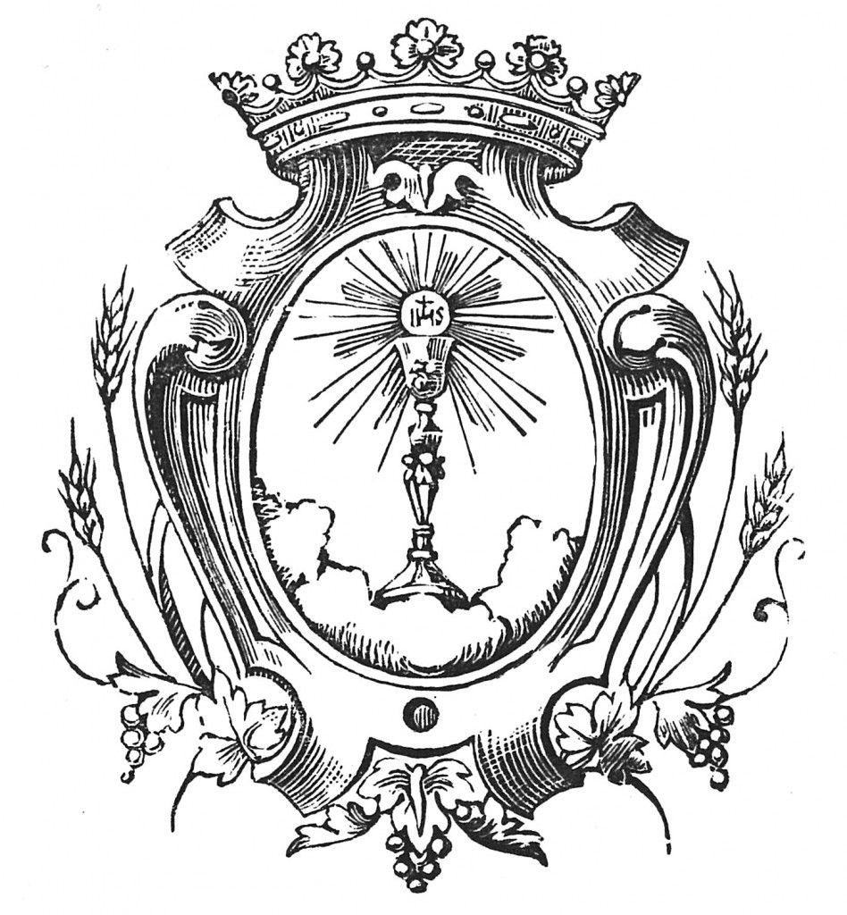 eucharistia engraving lineart - Hledat Googlem   Catholic engravings ...