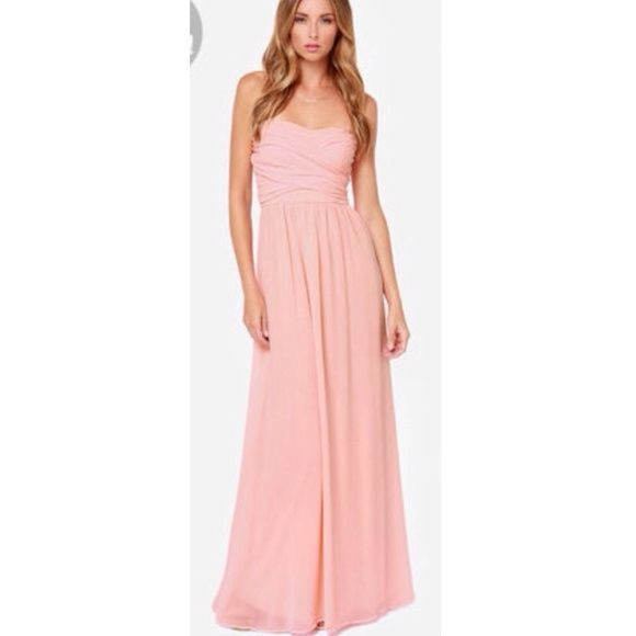 whatgoesgoodwith.com light-pink-maxi-dress-07 #cuteoutfits