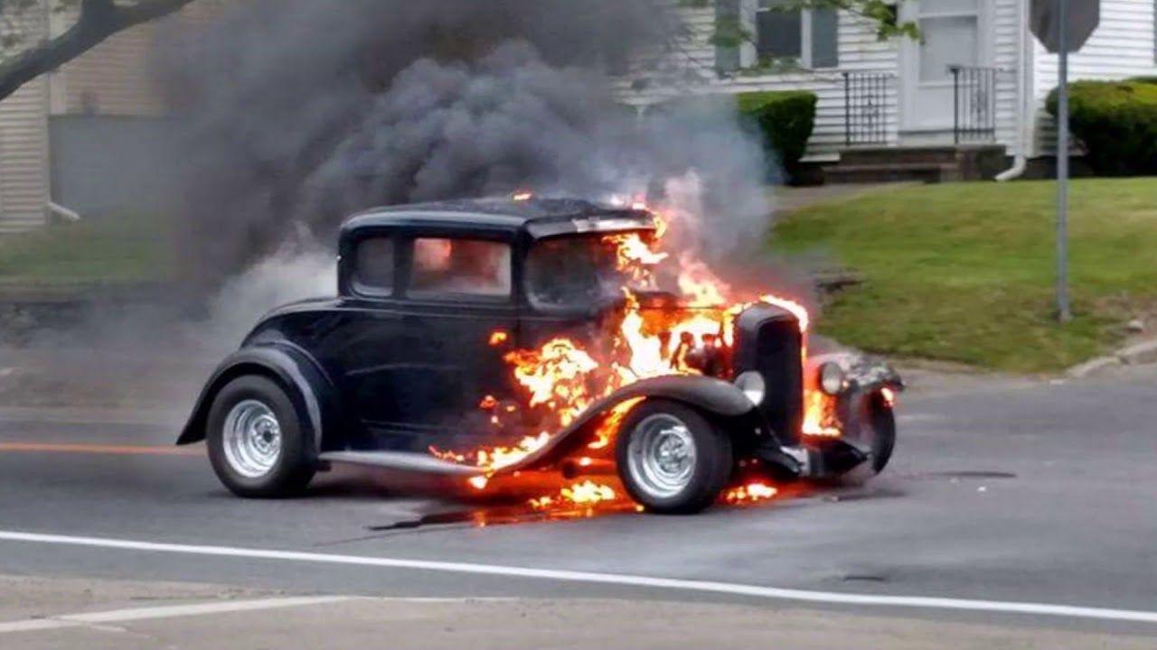 When Hot Rods Crash and Burn it's a sad day ~ Hot Rod Fails
