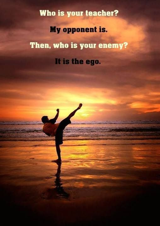 The enemy is the inferior i tae kwon do kampfsport spr che svv - Miyamoto musashi zitate ...