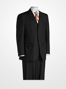 Geoffrey Beene Charcoal Suit - little bit darker than the other. both $100