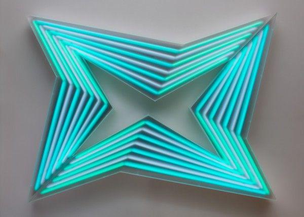 Jay Shinn Op Art #lightartinstallation