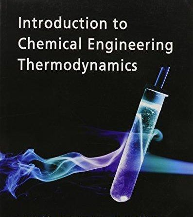 Introduction Chemical Engineering Thermodynamics Ebook