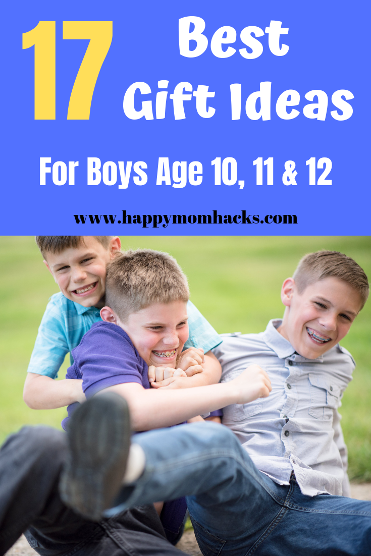 20 Cool Gifts Ideas for Boys Age 10, 11 & 12 Best gifts
