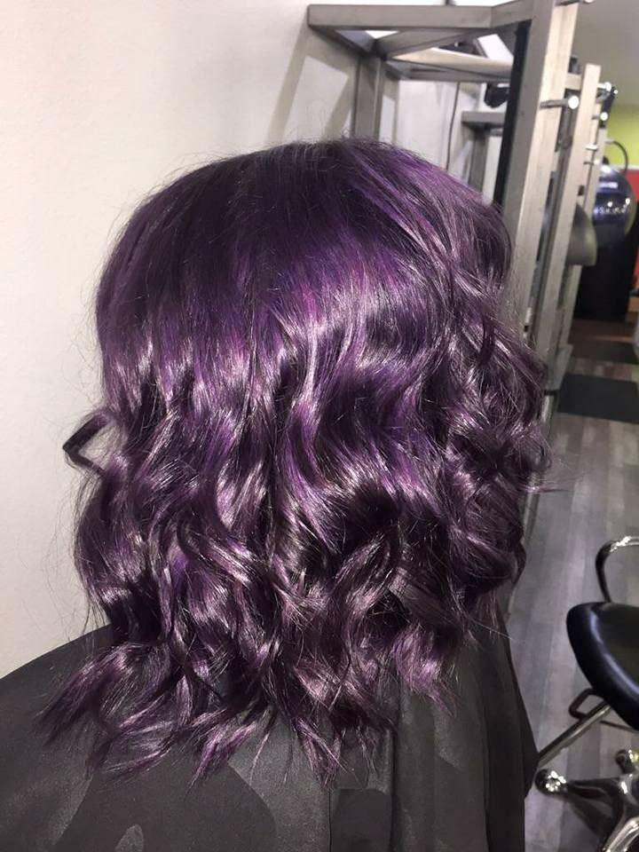 purple hair color oliver finley