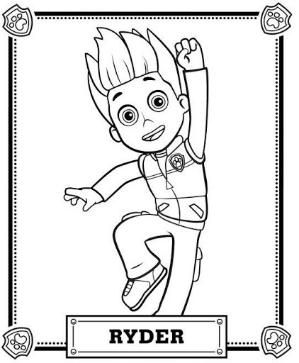 Paw Patrol Coloring Pages By Zcoloringpages Paw Patrol