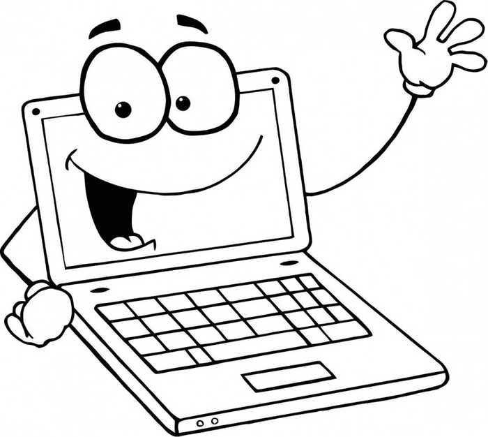 Computer Coloring Pages Printable Free Coloring Sheets Coloring Pages Computer Lab Computer