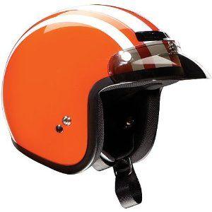 Orange Helmet To Match My Orange Vintage Moped Retro Helmet Cruiser Motorcycle Helmet Vintage Helmet