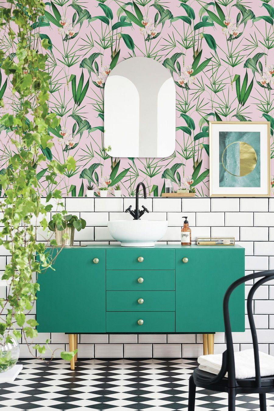 a palm springs inspired bathroom get the look bathroom ideas rh pinterest com