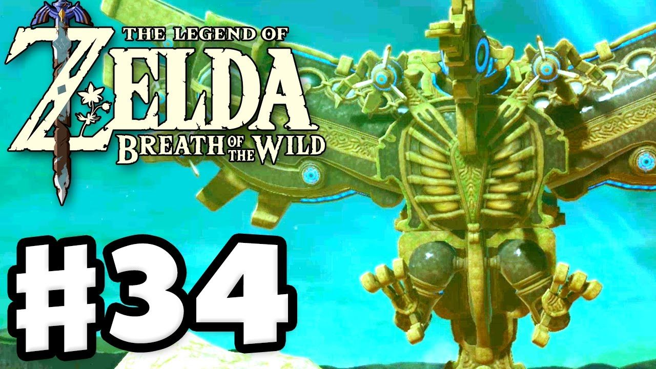 Divine Beast Vah Medoh The Legend Of Zelda Breath Of The Wild Gameplay Part 34 Youtube Breath Of The Wild Legend Of Zelda Zelda