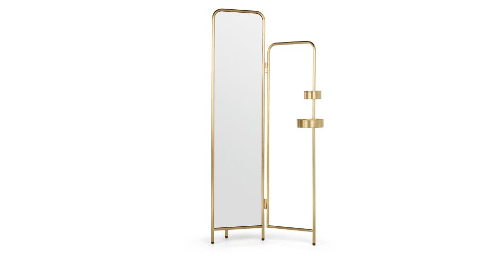 alana kleiderst nder mit spiegel messing wohnen sch ne dinge pinterest sch ne dinge. Black Bedroom Furniture Sets. Home Design Ideas