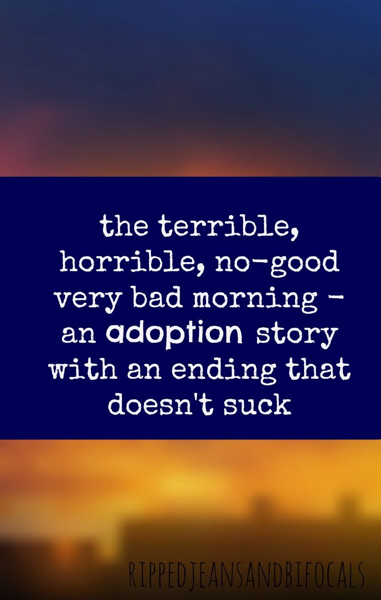 The Terrible Horrible No-Good Very Bad Morning | Ripped