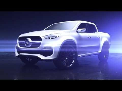 Mercedes apresenta inédita picape Classe X - carros - lancamentos - Jornal do Carro