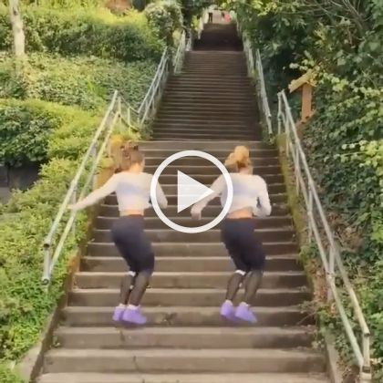 Stair Climbing One Of The Best Exercises Funny Videos Funny Pictures Stair Climbing Stairs Workout Exercise