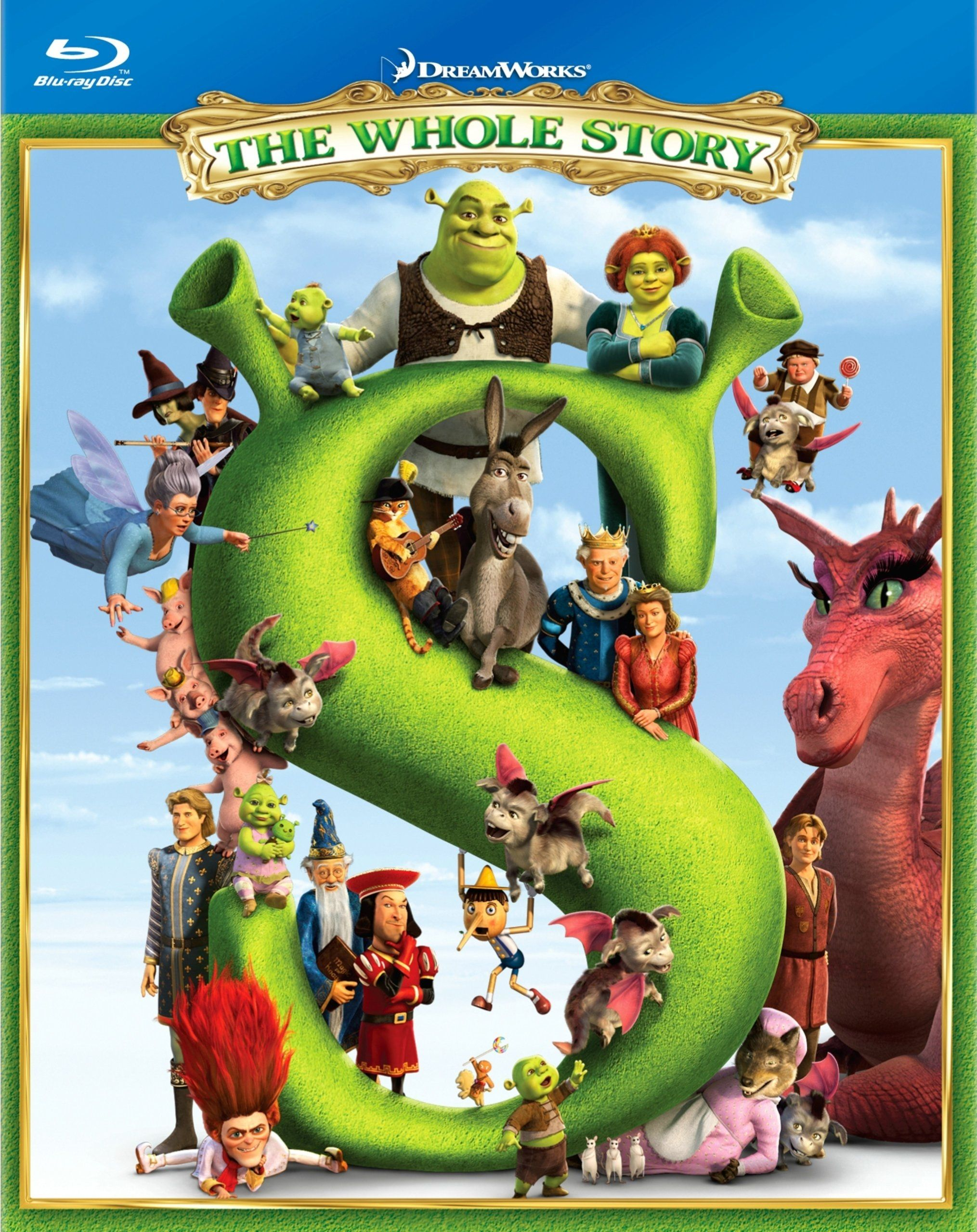 Shrek The Whole Story Blu Ray Box Set Event And Interviews