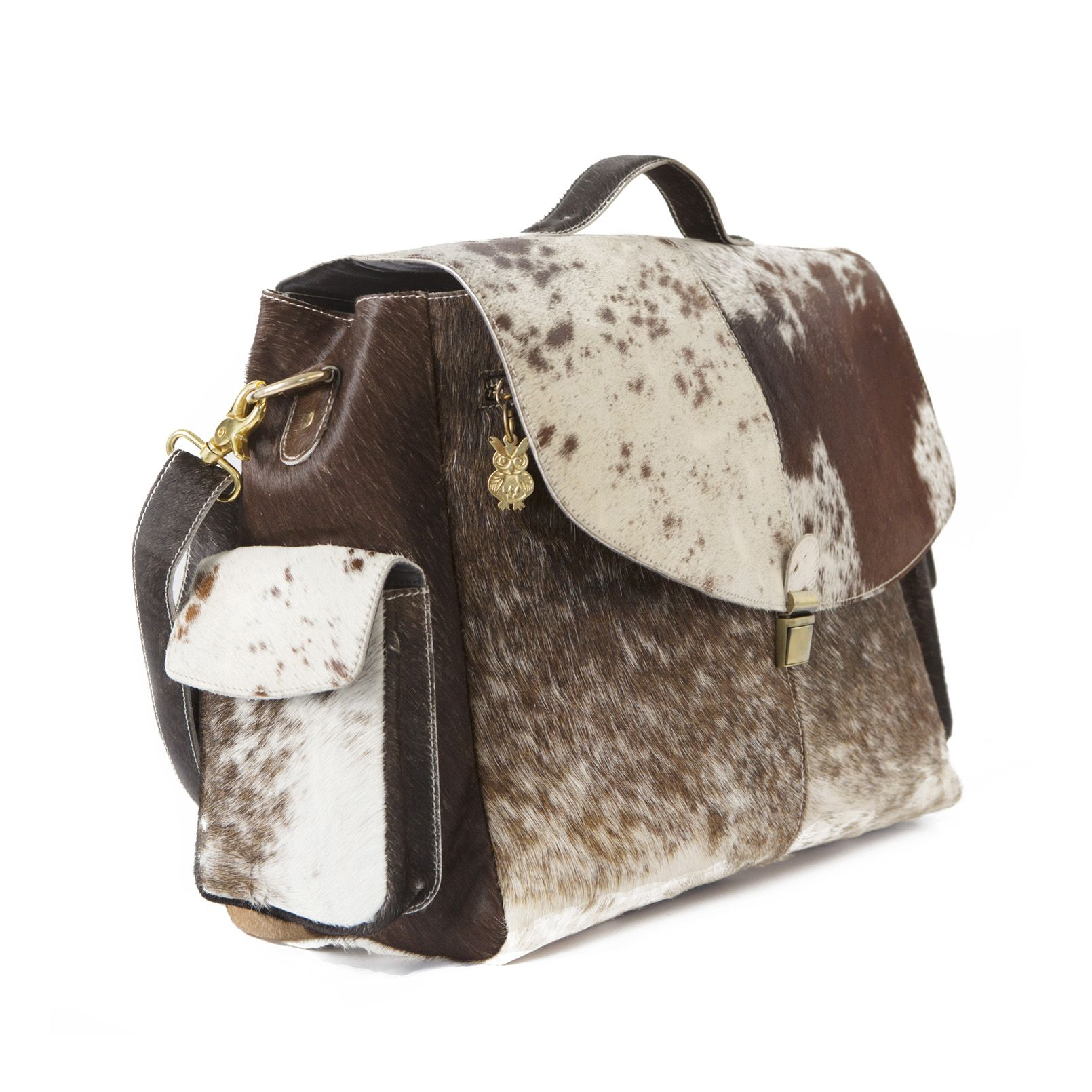 Cargo Brown Cream Hide Bankers Bag A Gorgeous Xl Carry All