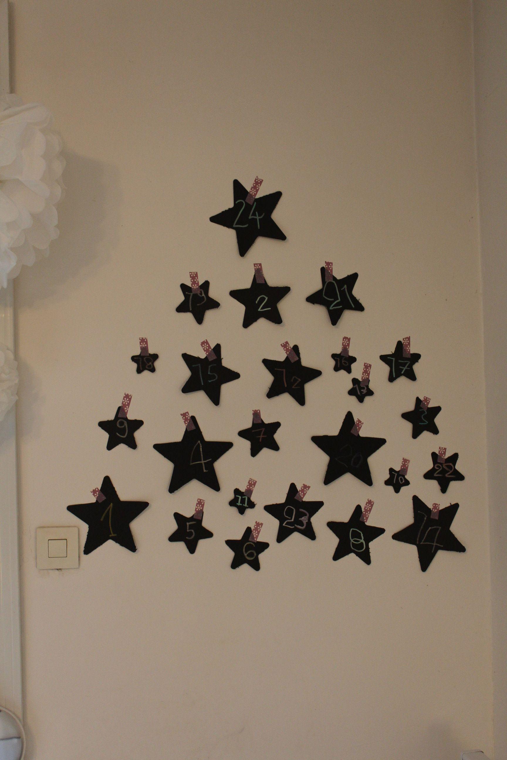 diy faire son calendrier de l avent 24 petites surprises pour les enfants avant no l. Black Bedroom Furniture Sets. Home Design Ideas
