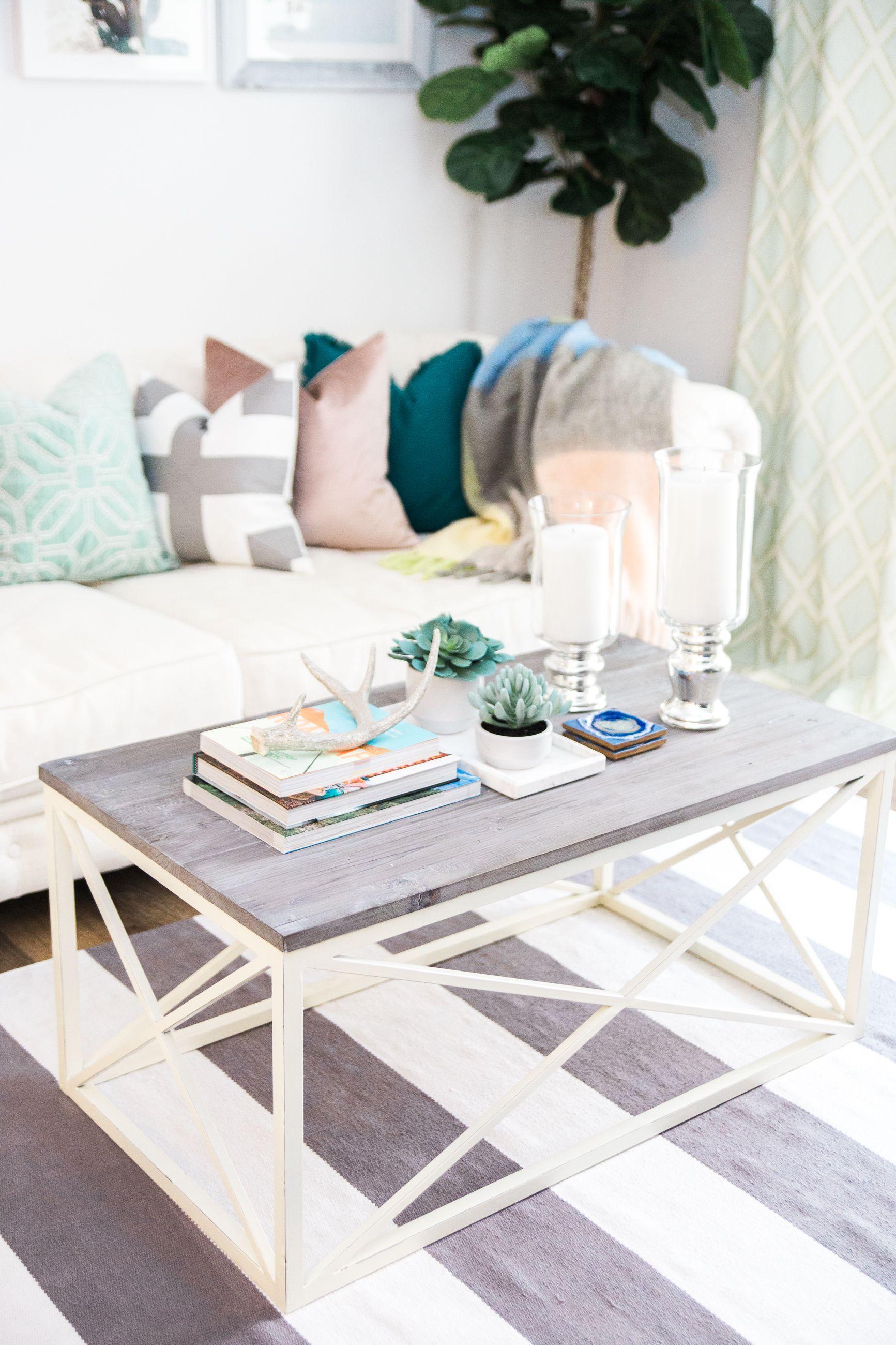 Feminine, beachy living room | Home Decor | Pinterest ...