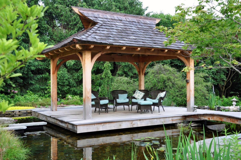 27 Gorgeous Gazebo Design Ideas Backyard Gazebo Patio Landscape