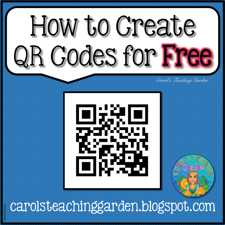 Blog post with complete directions to create QR codes for