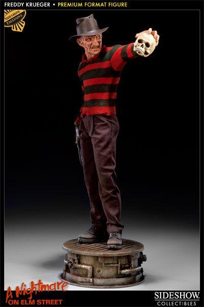 Halloween Freddy Toys : Freddy krueger premium format™ figure sideshow