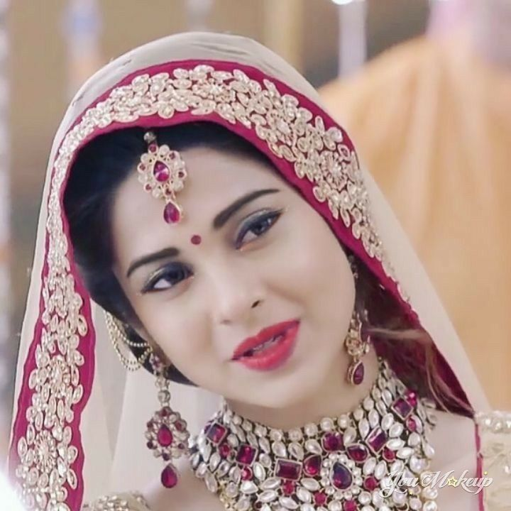 Look Too Beautiful In Bridal Look Jennifer Winget Jennifer Winget Beyhadh Indian Wedding Jewelry