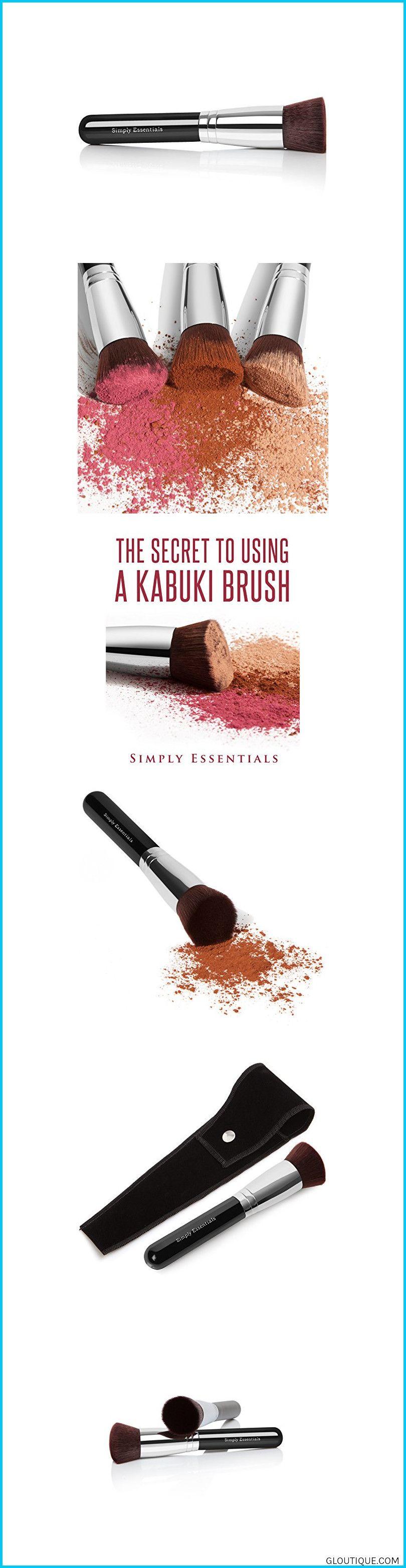 Kabuki Makeup Brush Flat Ebook Included This Brush