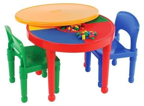 Round Lego Table With Chairs, Round Lego Table With Chairs