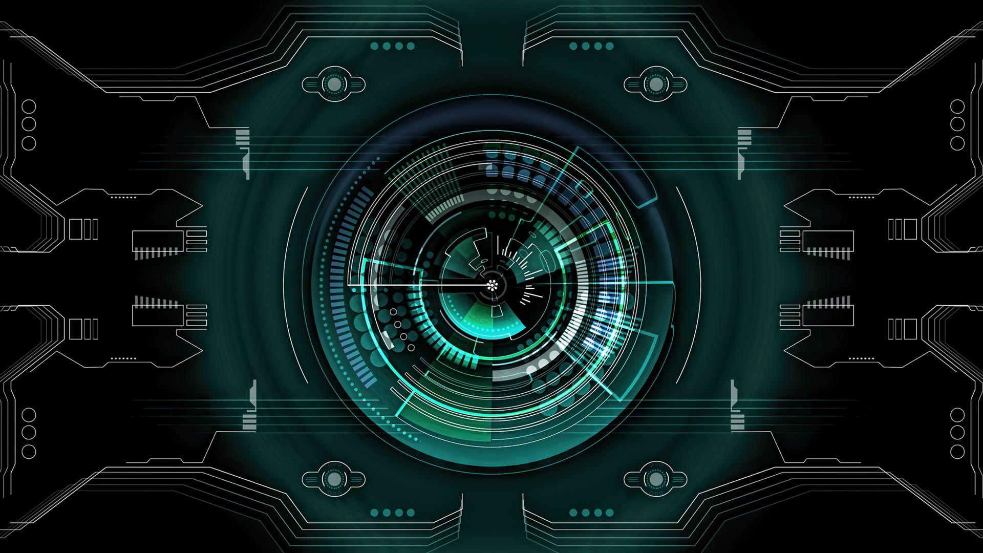 Science Fiction Futuristic Hud Tech Abstract 1080p Wallpaper Hdwallpaper Desktop Hd Wallpaper Joker Wallpapers Wallpaper